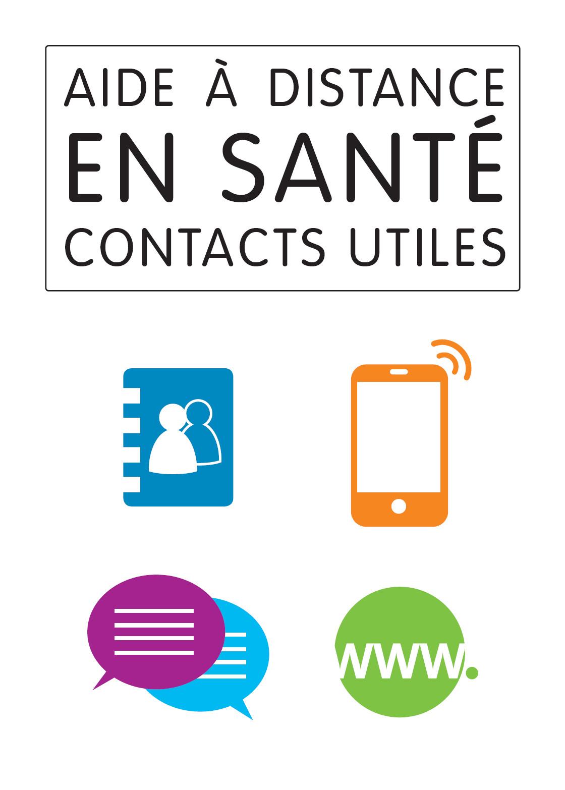 aide a distance en sante contacts utiles